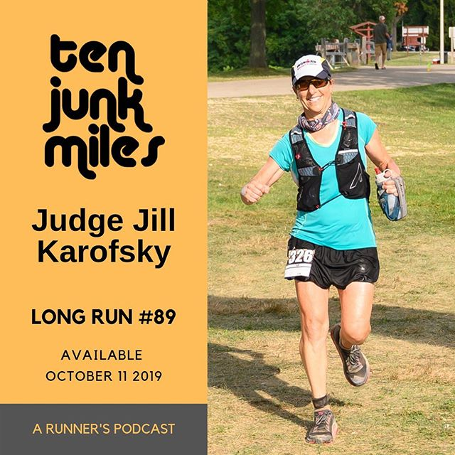 Cool story.  A actual judge ran the 50 miler at the Badger this year and we learned she is running for the Wisconsin Supreme Court.  So how do I not interview her, right?  Join me and Judge Jill Karofsky for Justice on a long one on one interview about her life in running, her path to becoming a judge, path to becoming an ultra runner, work/life balance, issues important to her, and so much more.  Available now everywhere you podcast and here: https://tenjunkmiles.libsyn.com/judge-jilll-kasrofsky  Toss a few dollars at her campaign if you can.  It's always nice to have trail runners in important government positions, no?  https://www.jillforjustice.com  This episode is brought to you by our partners.  We have all kinda of companies that either support us or give us a commission on sales.  Help them help us buy shopping from them if you can here:  https://www.tenjunkmiles.com/partners  Website: http://www.tenjunkmiles.com/  Patreon: https://www.patreon.com/tenjunkmiles  Twitter: https://twitter.com/tenjunkmiles  Instagram:https://www.instagram.com/tenjunkmiles/  Facebook: https://www.facebook.com/TenJunkMiles/