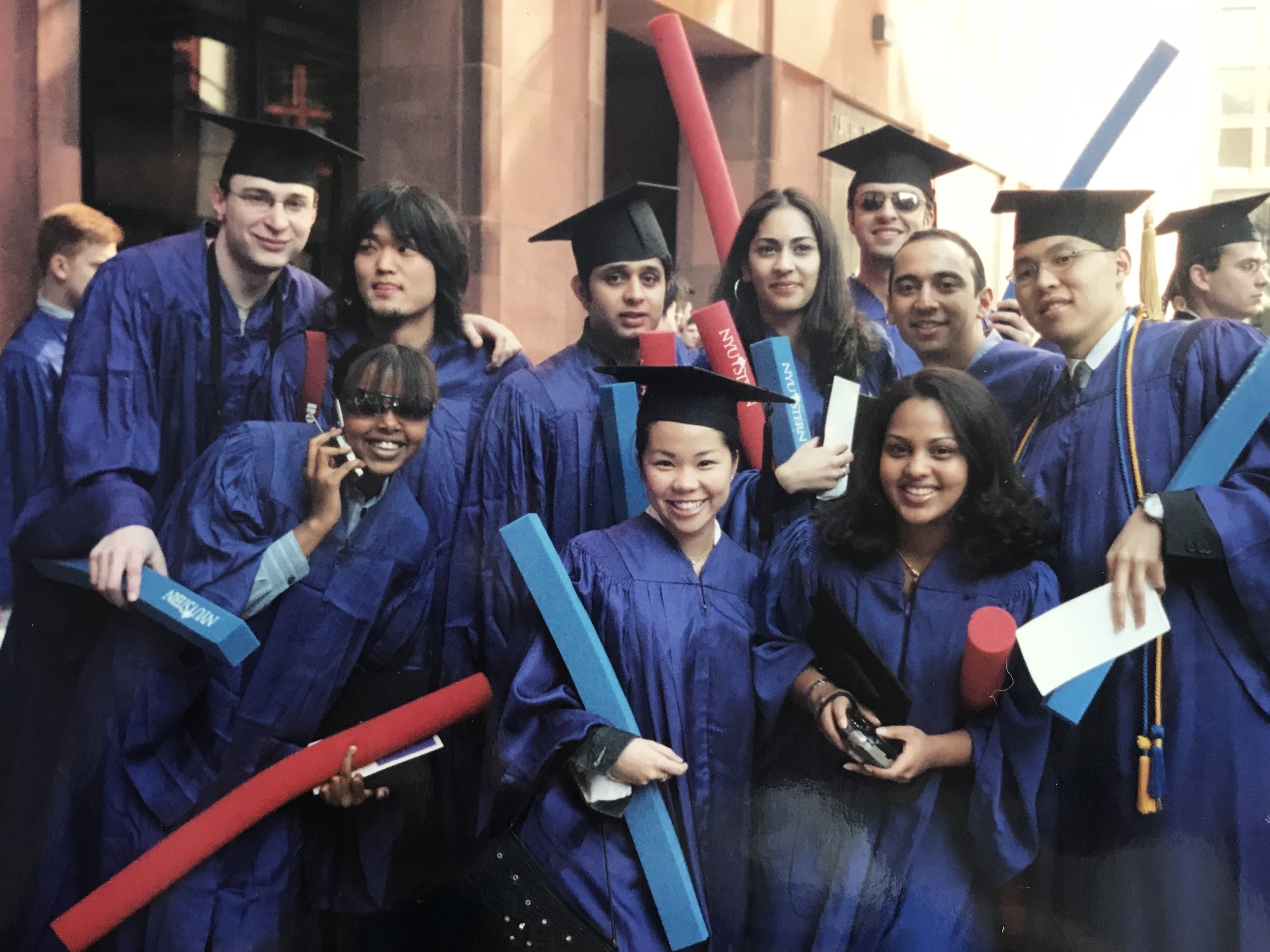 - I was educated in Catholic schools—Colegio San Agustin and De La Salle Zobel and graduated from New York University's Stern School of Business with a Marketing and International Business degree.