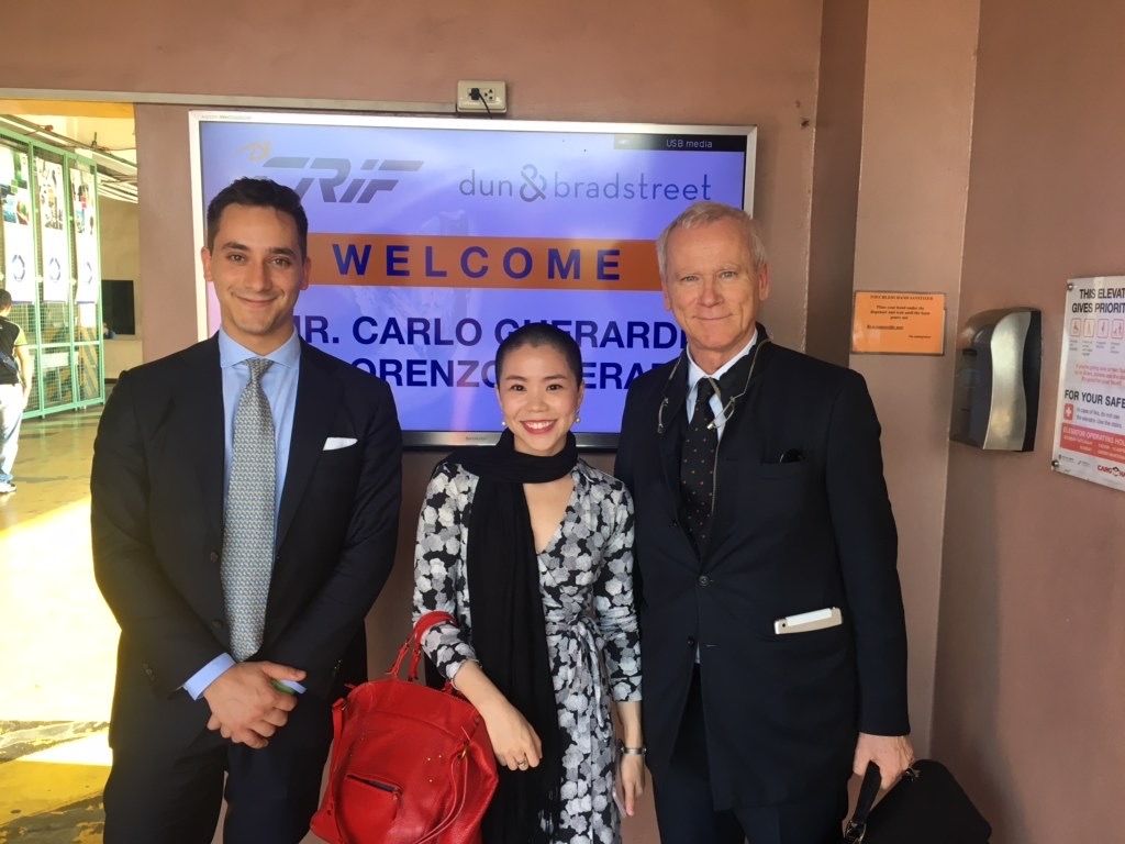 My first exit! - CRIF, a business information company based in Bologna, Italy, acquired my family's shares in D&B Philippines.