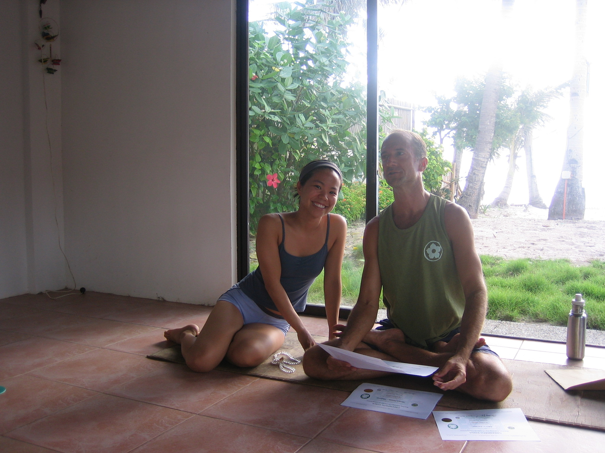 - I studied under Clayton Horton and Mo Ching Yip of Greenpath Yoga in Boracay for my 200 hour Yoga Alliance Teacher Training Certificate.