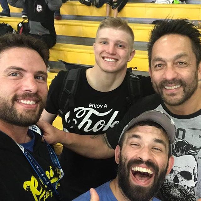 Congrats to Chris, Wes, and Mark at the DC Open! #ribeirojiujitsu #6blades #flowpressurefinish #youneverfightalone #goldisintheheart @ribeirojiujitsu @bjjlibrary @unijjsd