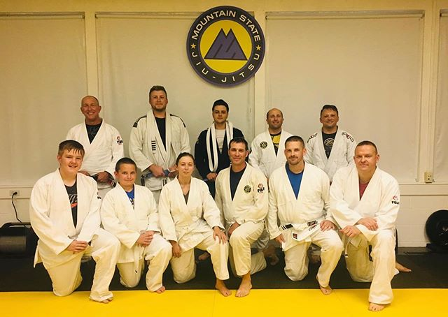 We had a bunch of new stripes last night and two new blue belts. Congrats to Steven and Josh on their promotions!