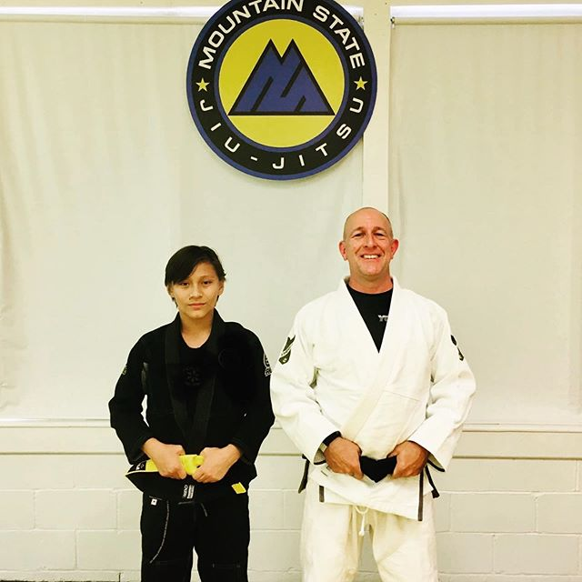 Congrats to Kyle on his promotion to Yellow Belt!