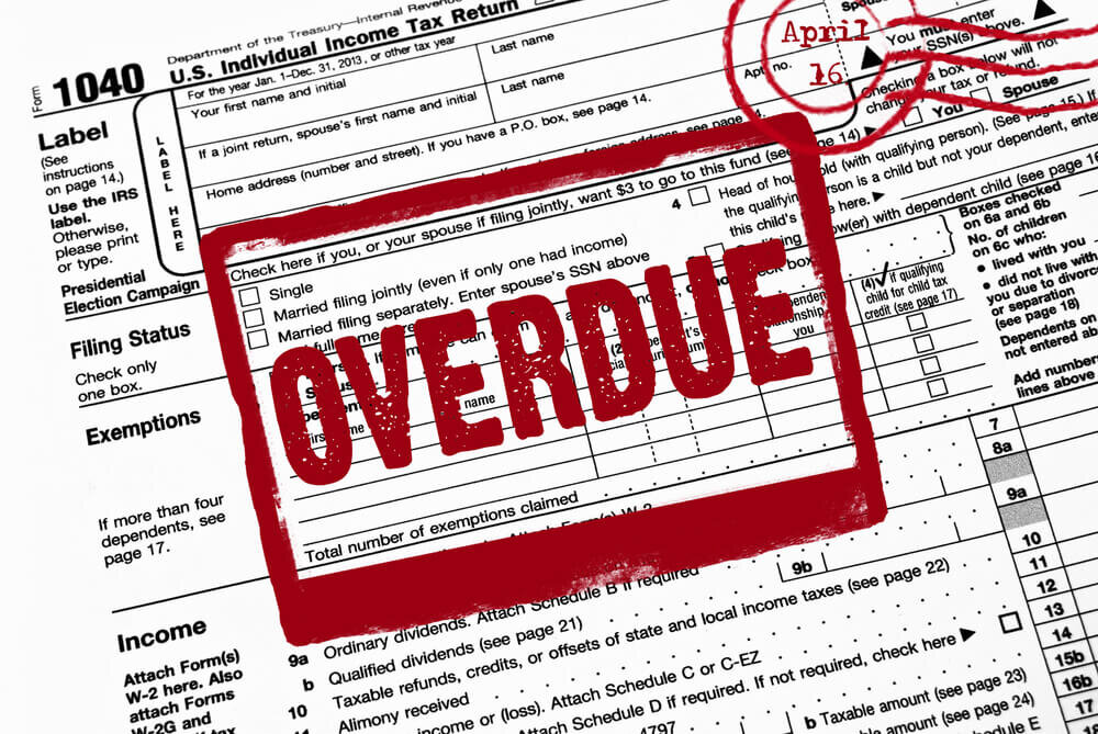 back taxes late tax extension preparation service