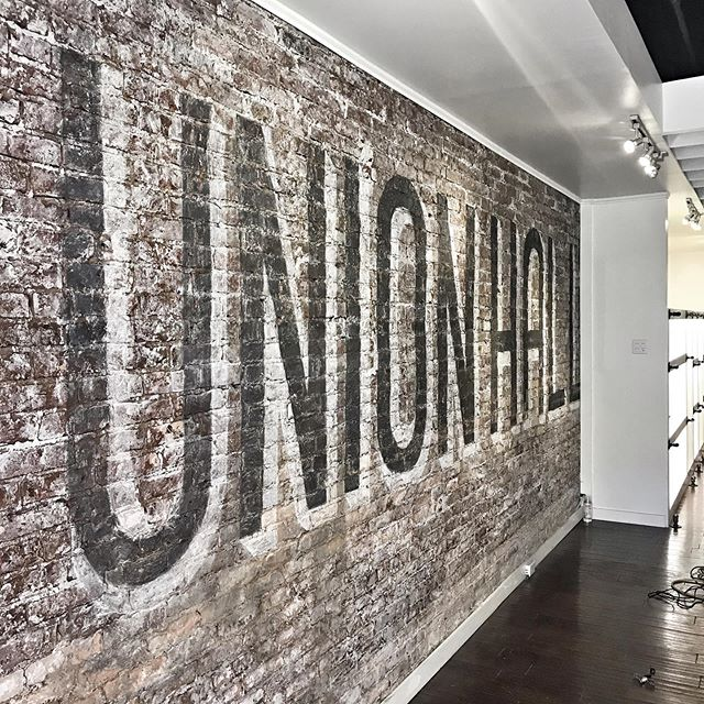 Ghost 👻 Sign complete #unionhallsupplycompany