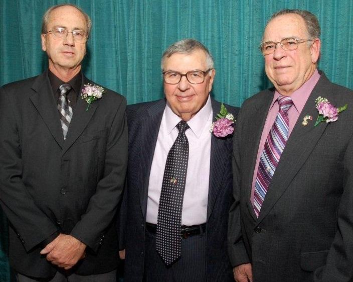 Left to right   John Carochi, Bill Scutti, John Rigirozzi
