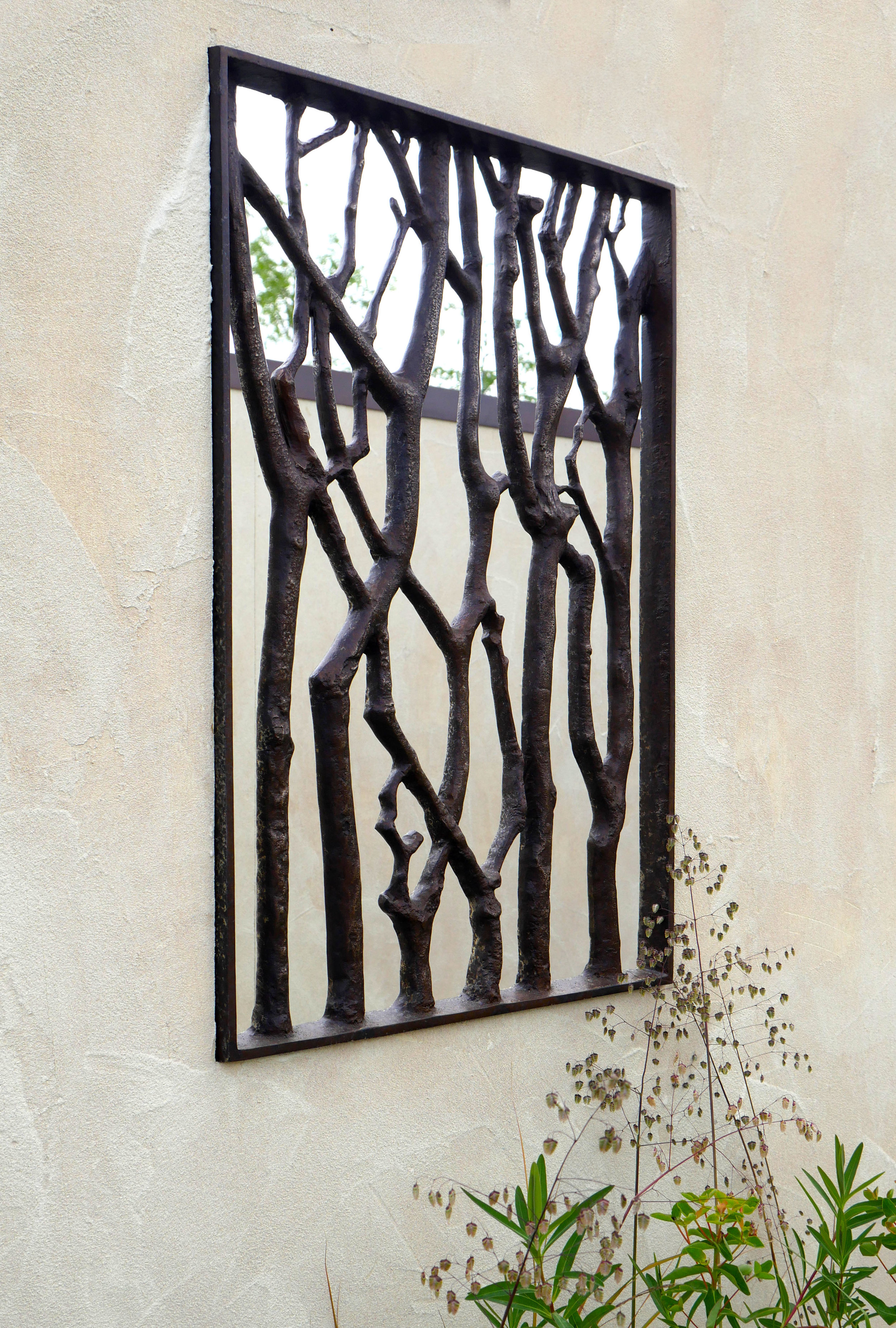 - Cast silicone bronze grille with patinated finish.Height 590mmWidth 395mm£800