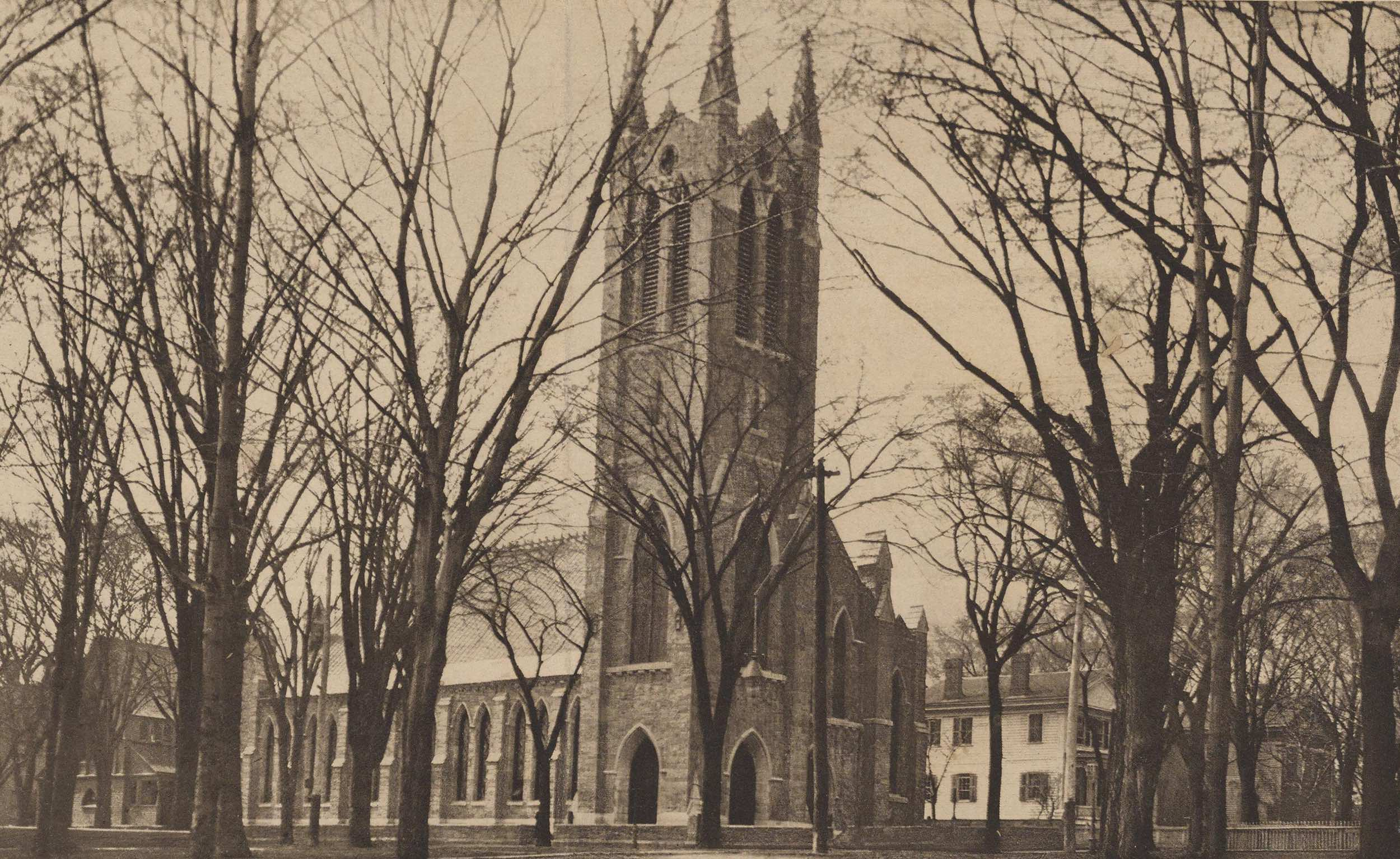 Christ Church, final edifice, 1857 - 1973