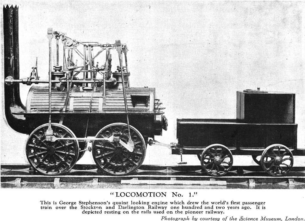 George Stephenson's Patent Locomotive Engine