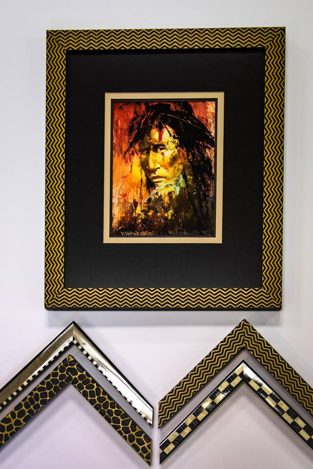 Custom Framing - The Ghost Art Gallery is a member of the Professional Picture Framer's Association. Our award winning framers have high standards and we take great pride in our craftsmanship.Those high standards are reflected in eveything we frame, whether a simple poster or a complex shadow box for grandma's keepsakes. The finished product will be of the highest quality and a piece you will be proud to display for generations.Our frame shop is state-of-the-art and all our framers attend regular framing association seminars. This means that you, the customer, can rely on us for the latest colors, decorating trends, and conservation techniques.With over 70 years of experience, we're sure we can take care of all your great framing ideas.