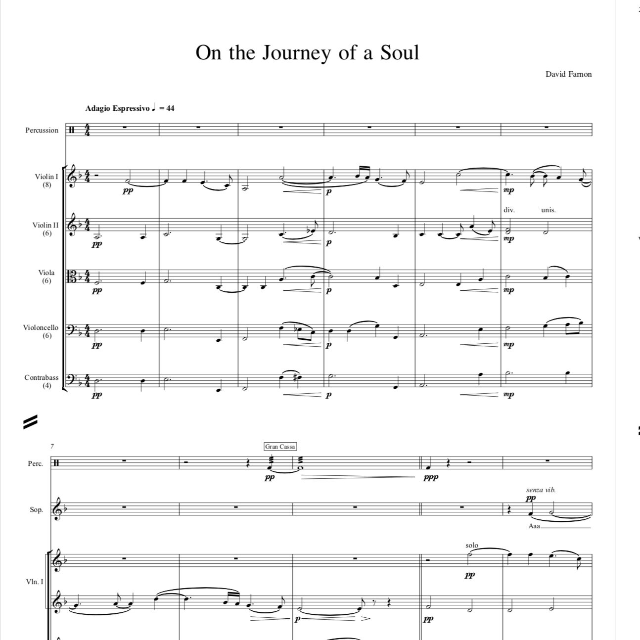 David Farnon - On the Journey of a Soul (2018) -