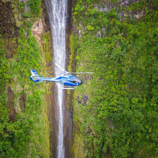 """Wall of Tears"" Complete Island Tour Maui. #maui #hawaii #helicopter #tours"