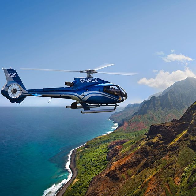 The famous Napali Coast of Kauai! #kauai #helicopter #napalicoast