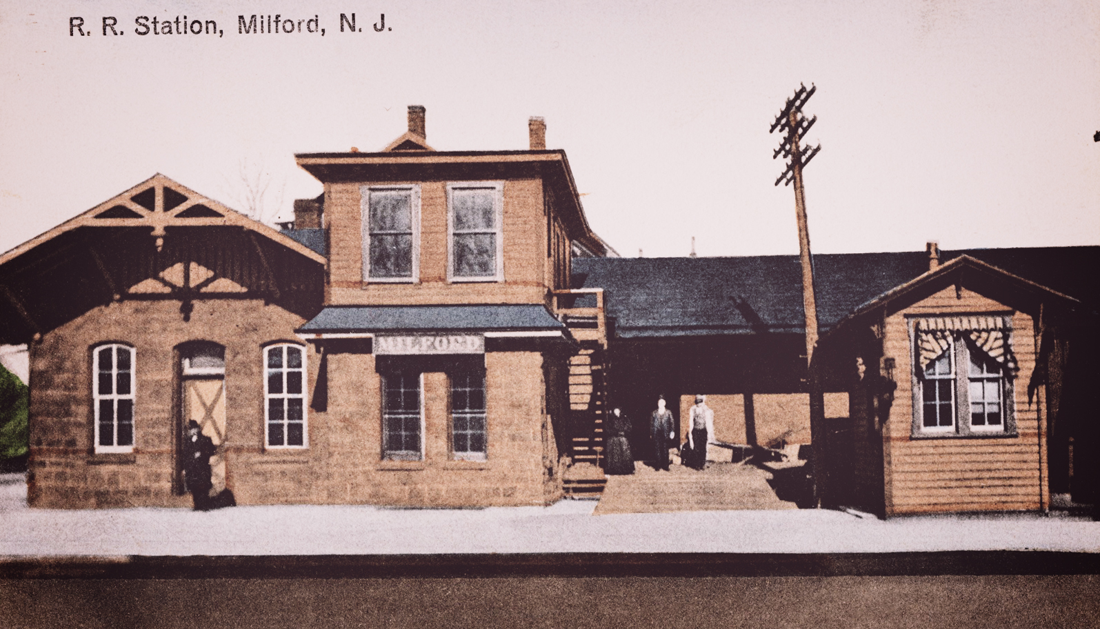 R.R. Station Milford-turn of the century.jpg