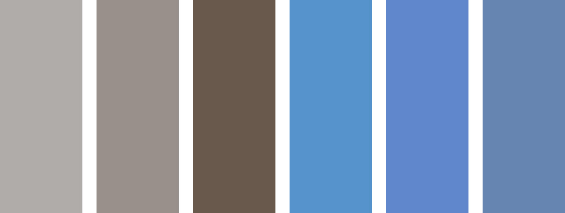 Does Hong Kong Mist or Sunday Blues match your brand? Take a look at the various colors chosen by the boys at PBH.