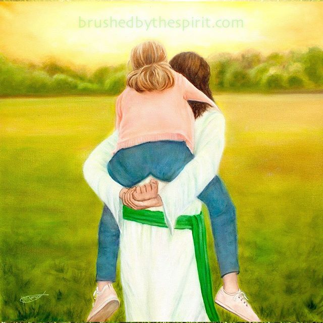"""Let Me Carry You"" by Jeanette Sthamann - @brushedbythespirit. View the full post by clicking on the link in my profile then going to ""Latest Art on the Blog"".⠀⠀⠀ ""I have made you and I will carry you; I will sustain you and I will rescue you."" (Isaiah 46:4)⠀⠀⠀⠀ .⠀⠀⠀⠀⠀⠀⠀⠀ .⠀⠀⠀⠀⠀⠀⠀⠀ .⠀⠀⠀⠀⠀⠀⠀⠀ .⠀⠀⠀⠀⠀⠀⠀⠀ .⠀⠀⠀⠀⠀⠀⠀⠀ #fireandcolour #christianart #christianartwork #christianartist #christianpainting #propheticart #propheticartwork #propheticpainting #propheticartist #propheticpainter #jesus #jesussaves"
