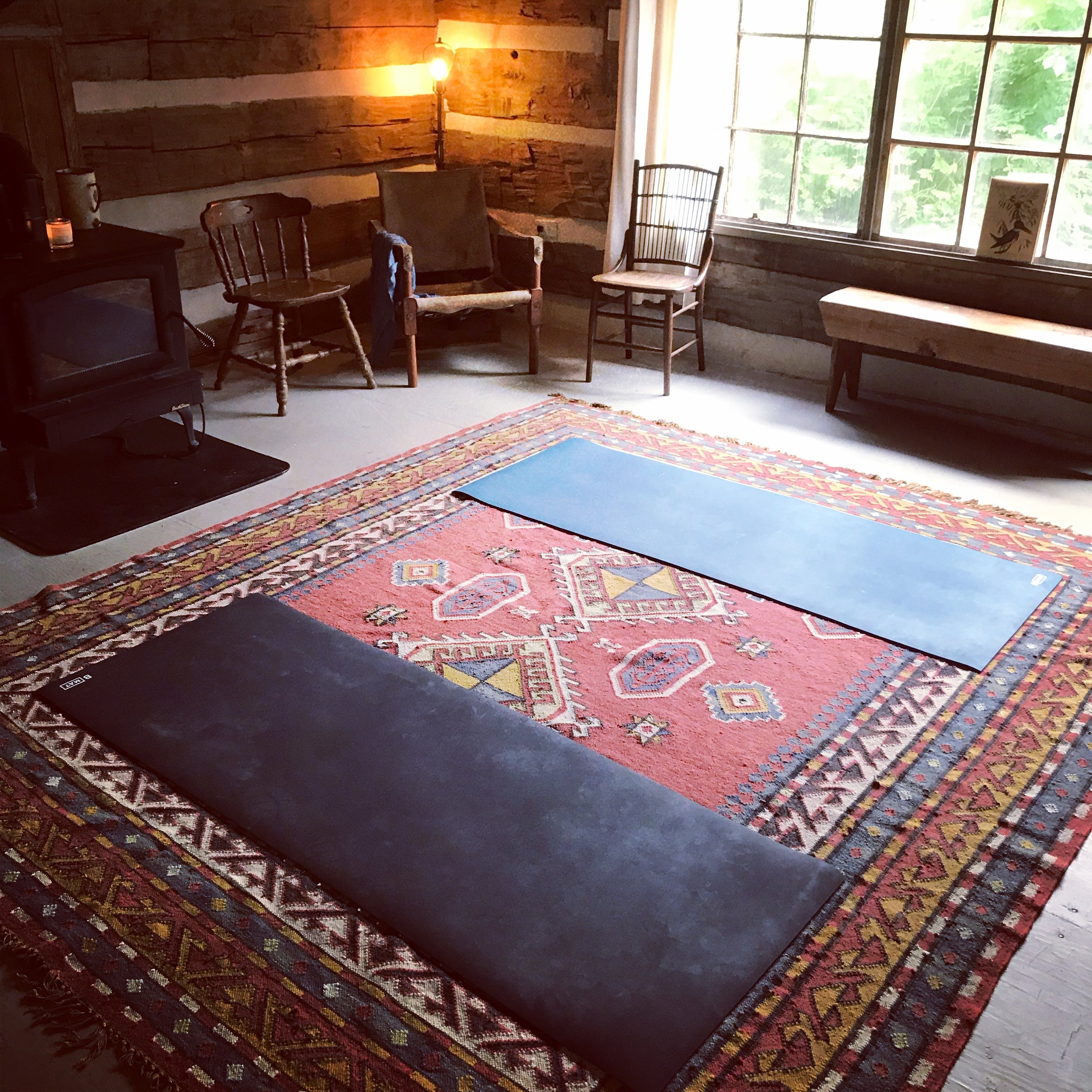 Personalized Yoga Classes - in the yoga cabin . . .