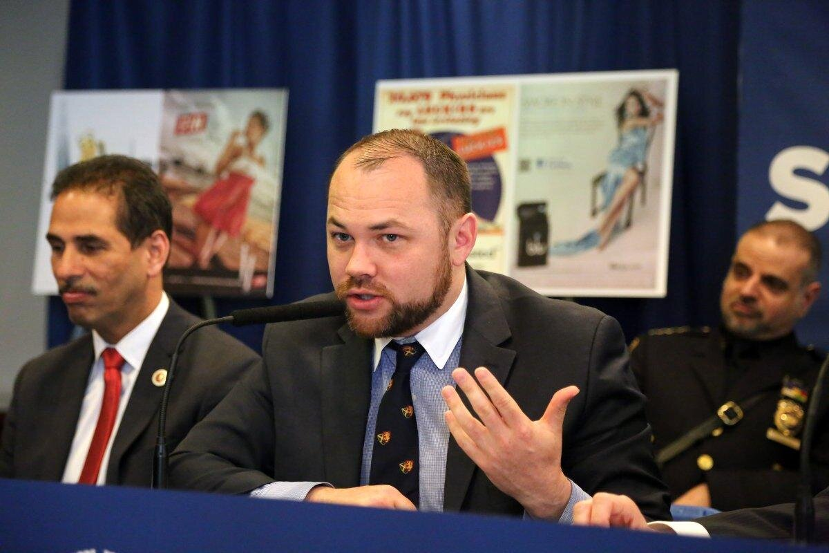 Democratic county leaders were finalizing a deal to back Corey Johnson, a Manhattan Democrat, for the speaker post. (Jefferson Siegel/New York Daily News)