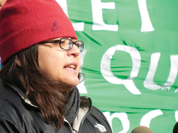 Rosie Mendez, the East Village's city councilmember, said she won't be marching along Fifth Ave.
