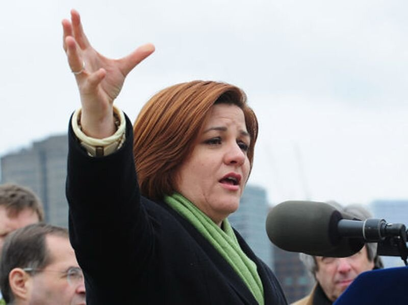 City Council Speaker Christine Quinn's director of community outreach dropped a few F-bombs at a local fundraiser last week. (Bryan Smith for News)