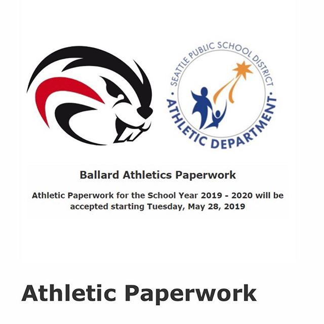 "Athletic Paperwork  REMINDER: You are encouraged to register for ALL sports you plan to participate in next year.  Packets are available outside the Office or download the 2019 - 2020 SPS Athletic Paperwork Packet https://ballardhs.seattleschools.org  DID YOU KNOW? You can submit your paperwork electronically by sending PDF versions of your completed packets to Lindsay Squires at lesquires@seattleschools.org with ""Sports packet"" in the subject line.  NOTE: Hard copies will not be accepted between July 8 & Aug 12. You can still send electronically, but it will not be processed until after Aug 12.  Visit BHS Athletics Paperwork for more info. Questions? Lindsay Squires BHS Athletic Secretary at lesquires@seattleschools.org  #ag2bb #ballardhighschool"