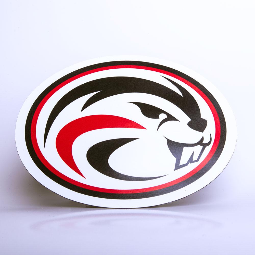 Beaver Logo Magnet