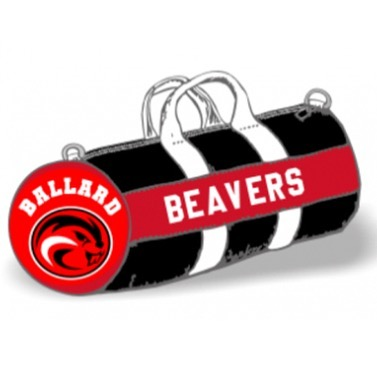 The sales period for Ballard Beaver Bags is open until September 19!  Along with our full-size bags, we are excited to be offering Ballard Beaver mini-duffels for the first time. Order by going to our website (link in profile) and clicking on the link under Beaver Gear Updates. #ag2bb #bhsabc #ballardbeavers #ballard