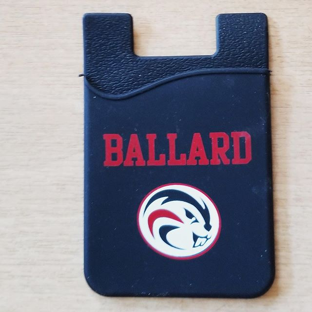 Hey Beaver Fans, don't miss our first spirit swag giveaway of the school year at this weekend's Homecoming game! The BHS Athletic Booster Club is excited to be handing out these self-stick neoprene cell phone wallets to the first 200 BHS students who go through the gates at Memorial Stadium!  See you there!  #bhsabc #bhshomecoming2019 #ag2bb #ballardhs #ballardfootball