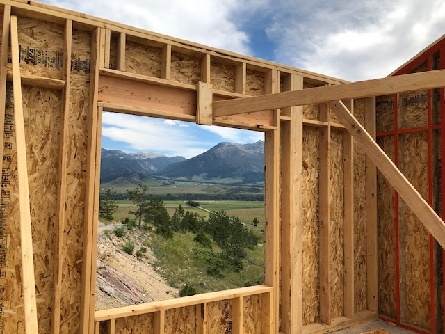 Framing views in Paradise Valley