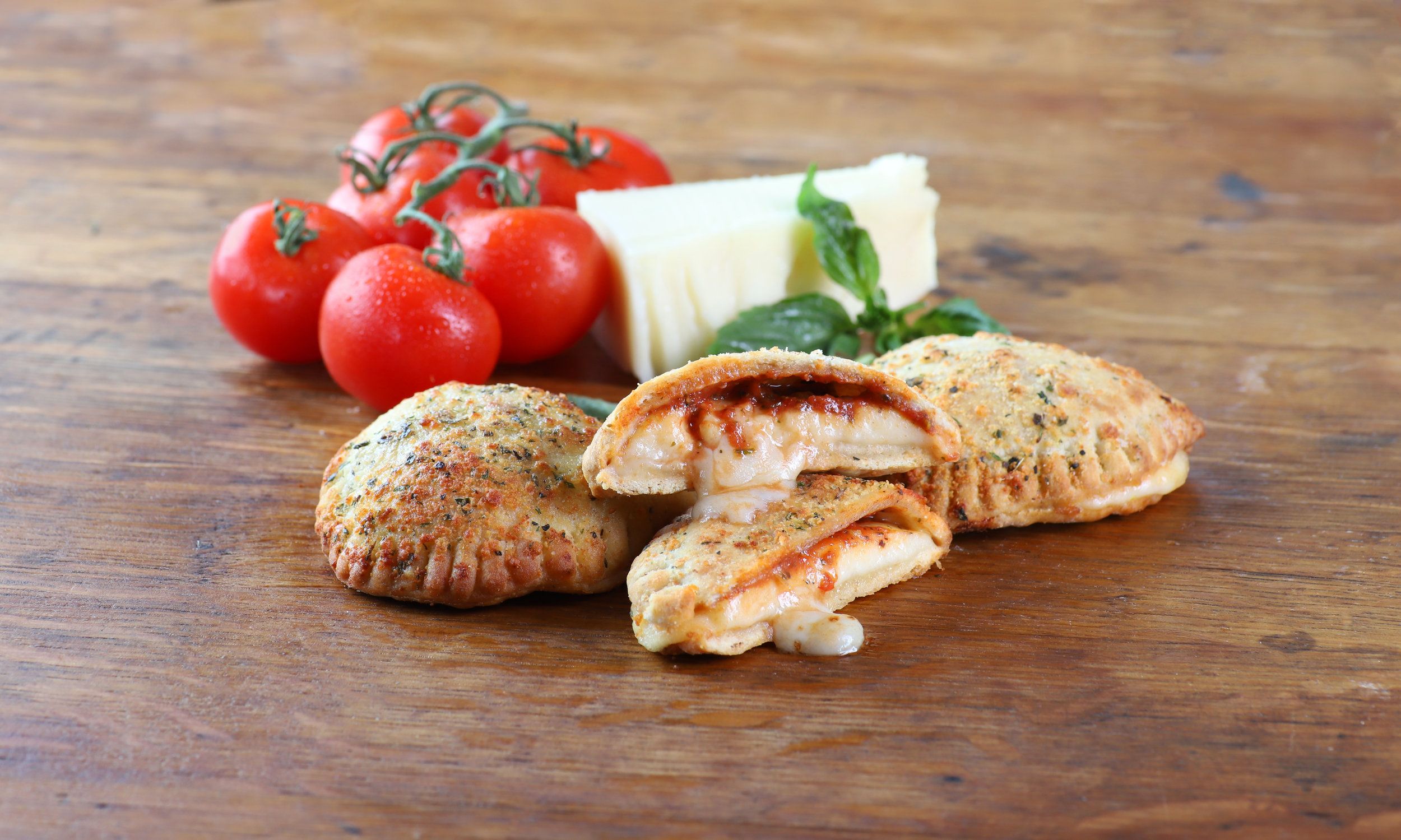 Mini Cheese Calzones