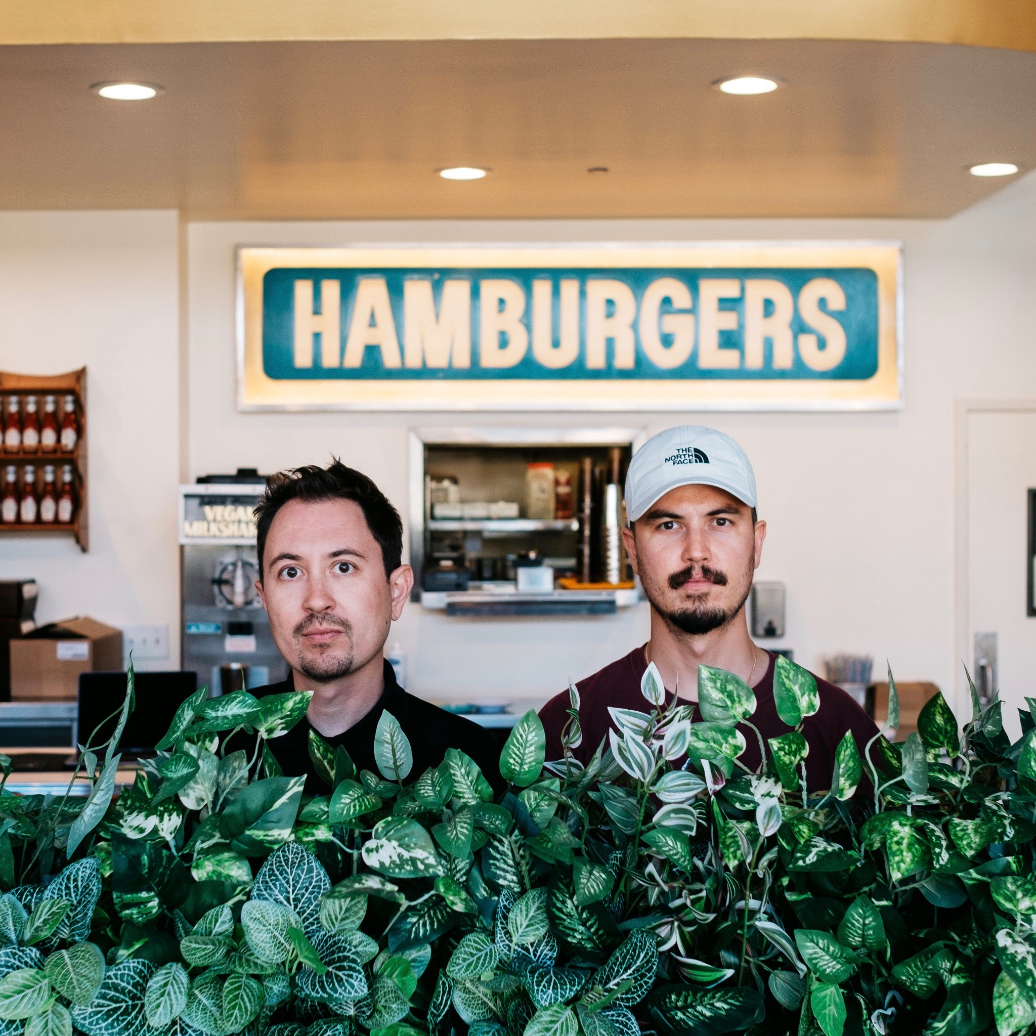Photo of Fred and Max Guerrero owners of Burgerlords