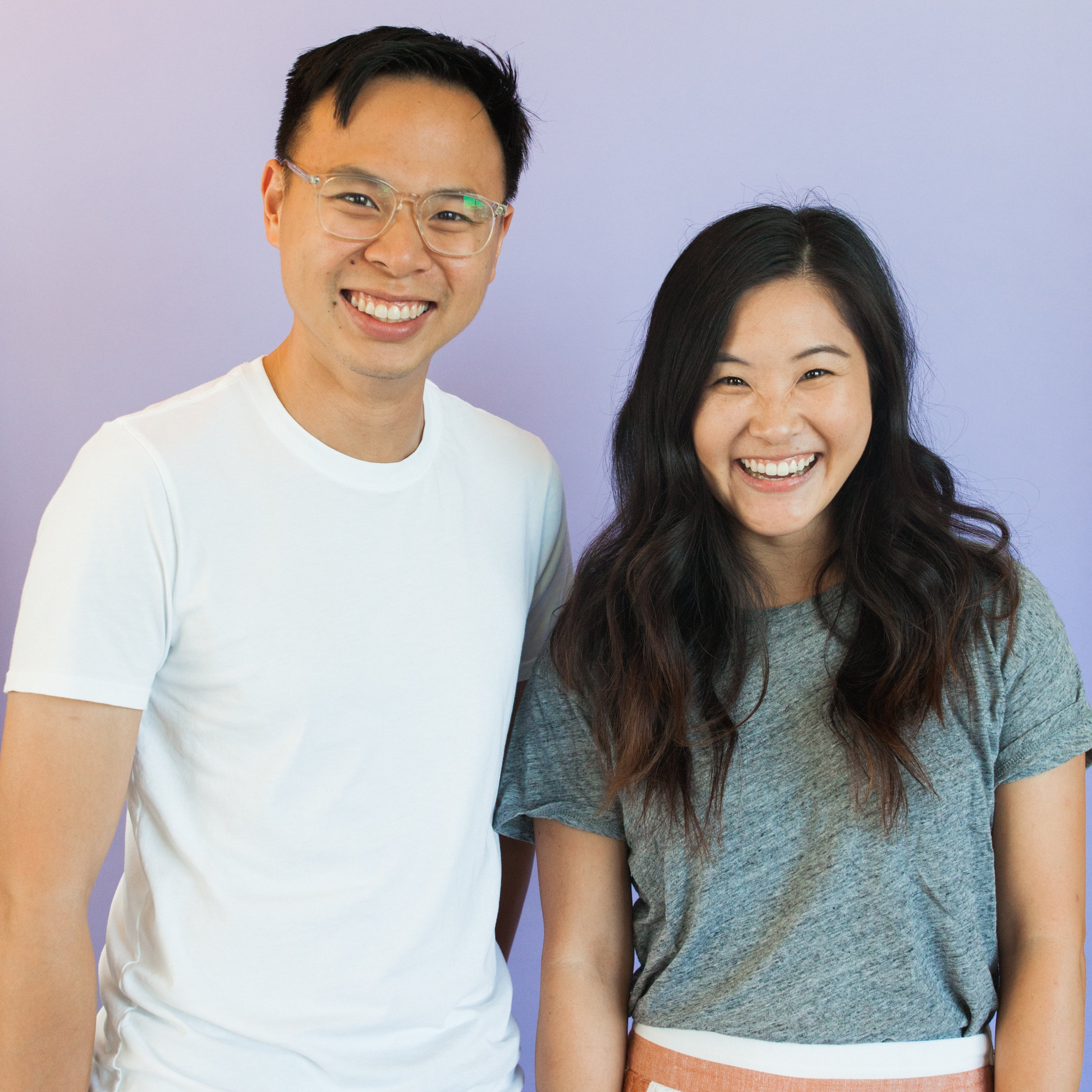 Photo of Bryan Leong and Stephanie Wang owners of Amazebowls