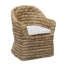 FEATURED FURNITURE  Banana Leaf Natural Woven Chair