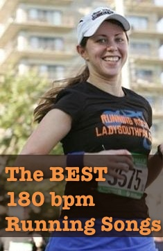 Running Playlist Categories: - The Best 180 bpm Running Songs = My top picks, these songs will never let you down when you have a need for speed.More 180 bpm Running Songs = Other songs in my library that are run-worthy, but may have some irregularities. They're best for warm-ups/long slow distance.All songs are in the neighborhood of 90 or 180 beats per minute (BPM.) I've listed them as steps per minute (SPM) for reference. If the song is a slower 90 bpm, your feet should be going double time at 180 spm.