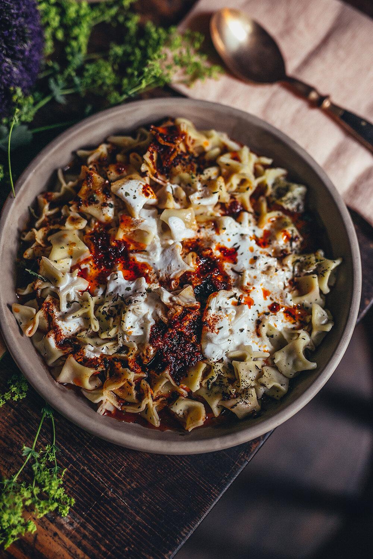 Manti Turkish Pasta Dish Ischta