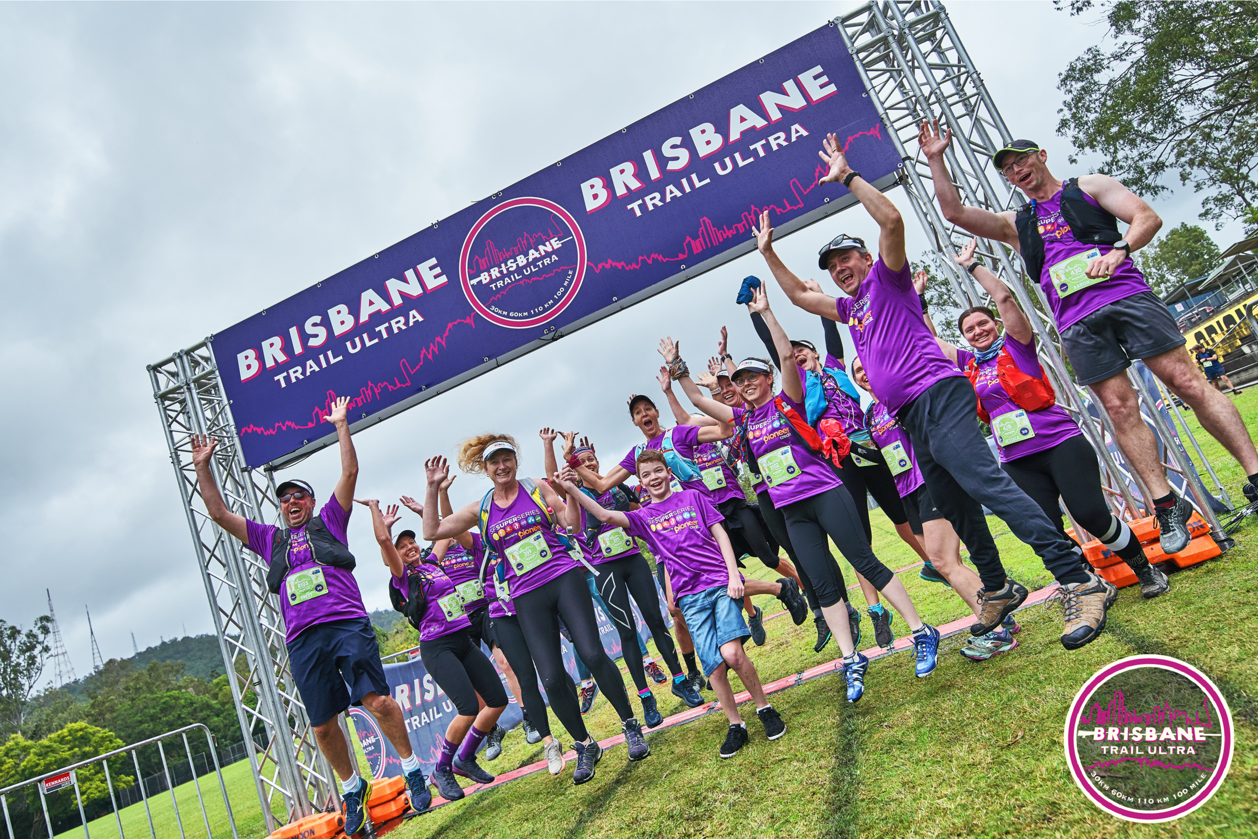 Brisbane Trail Ultra is a SFSuper Series event helping to raise over $20,000 towards Sanfilippo Children's Foundation.