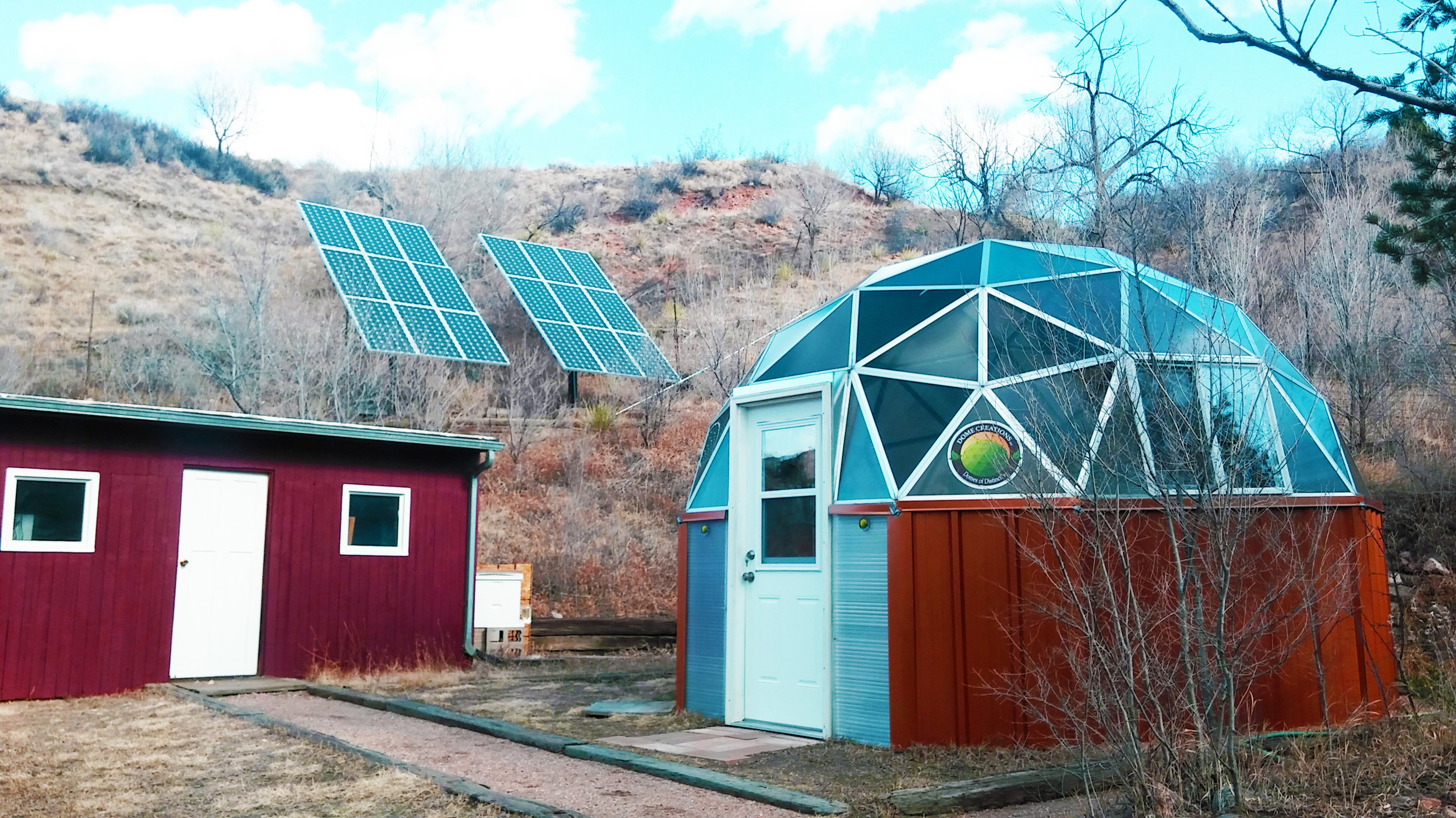 Sustainable - Geodesic domes are sustainable by nature, but Dome Creations LLC takes pride in furthering its ecological mission by using recycled materials because we care about the earth! Want to learn more about how we reduce our carbon footprint?