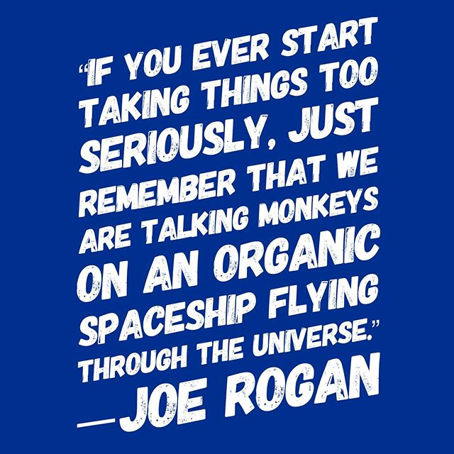 Joe Rogan breaks it down for those of us who need to take life a bit less serious. 🤗  Go to www.RealRocketman.com for more info and to watch the film~  You can also find us on Facebook and Twitter @thisisrocketman 🚀  #thisisrocketman