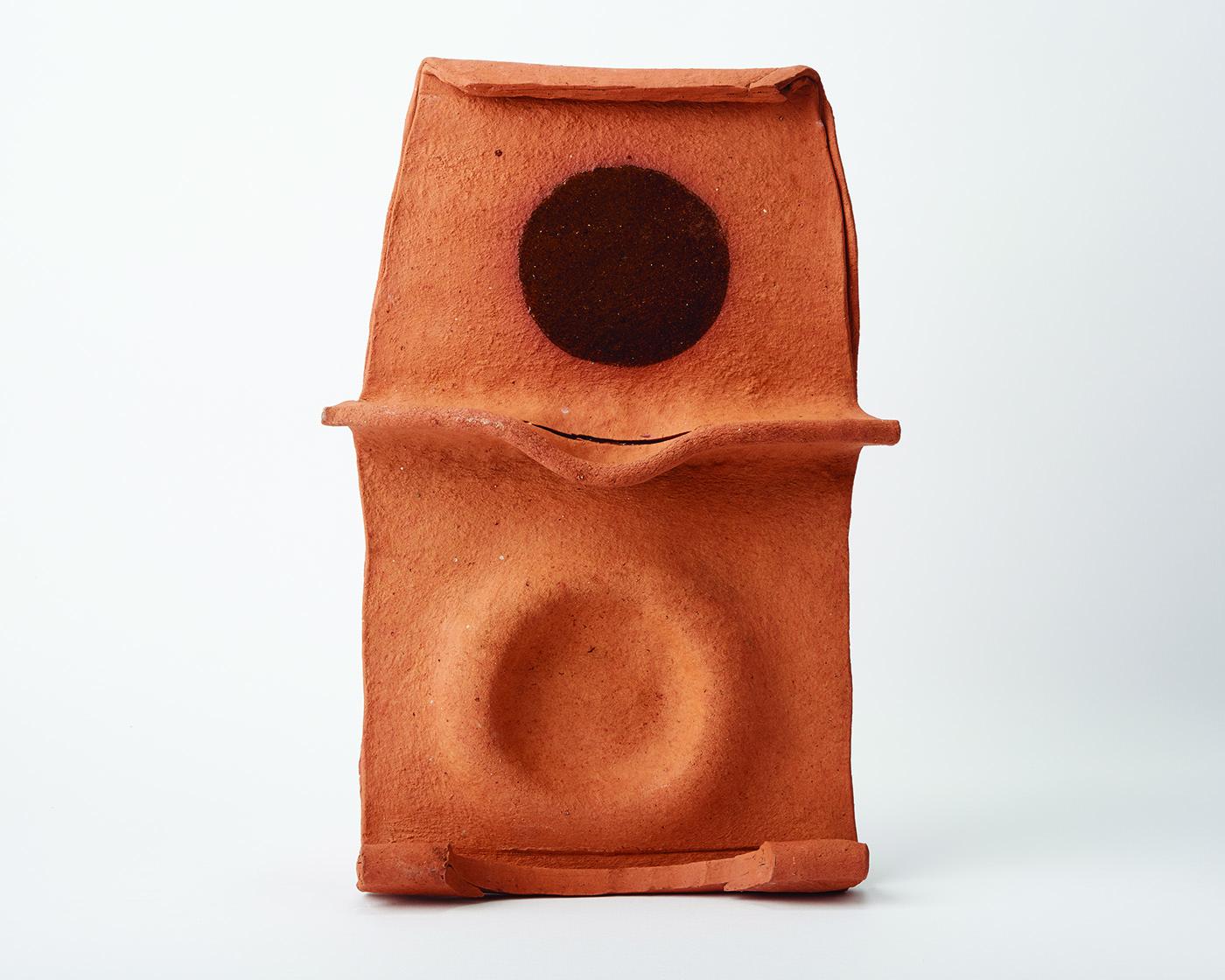 Untitled   Ceramic  14 x 8 1/2 inches  35.56 x 21.59 cm