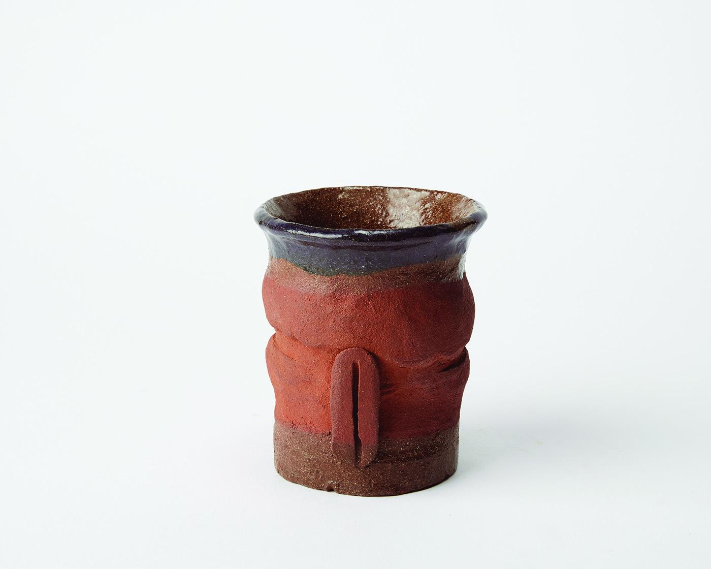 Untitled   Ceramic  4 x 3 1/2 inches  10.16 x 8.89 cm