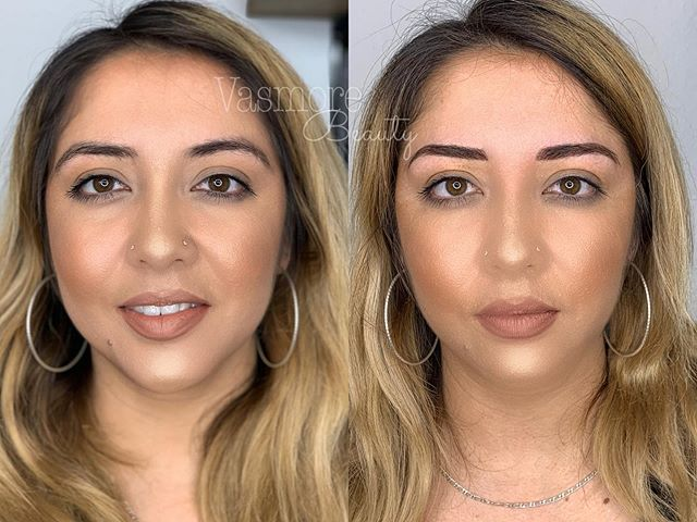 When your clients are beautiful inside and out 🖤 hairstrokes and soft shading (combo brows) for this awesome client of mine. She had nice brows to start with but we worked to achieve fullness and density • She's such an awesome, kind and sweet human! Who drove all the way from Oceanside to see me 😪 thank you for trusting me with your pretty face lovely @jesspreneur 🖤