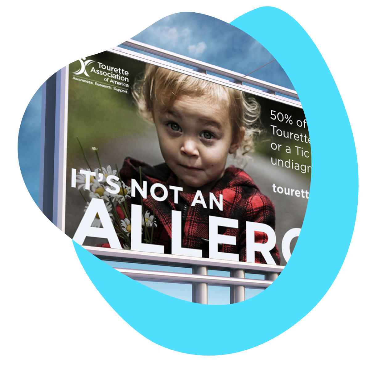 Awareness &Fundraising Campaign - Tourette Association of AmericaDesignMedia Social Media