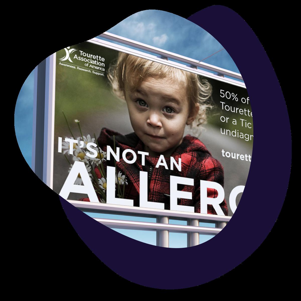 Awareness & Fundraising Campaign - Tourette Association of AmericaDesignMediaSocial Media