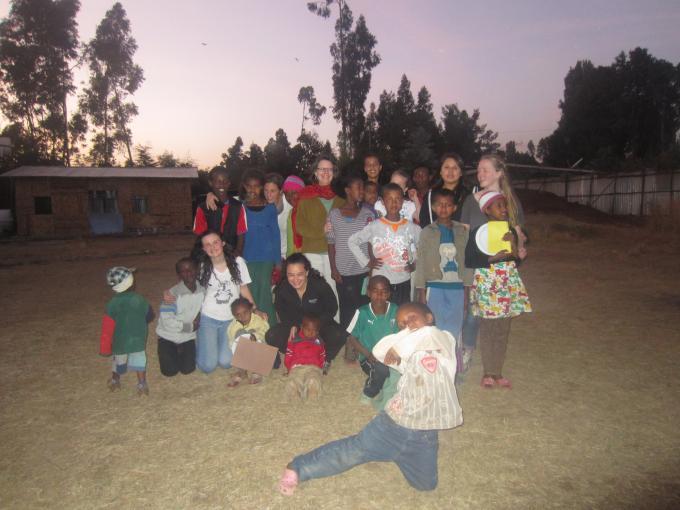Hygiene for Health team visiting Addis Ababa December 2012