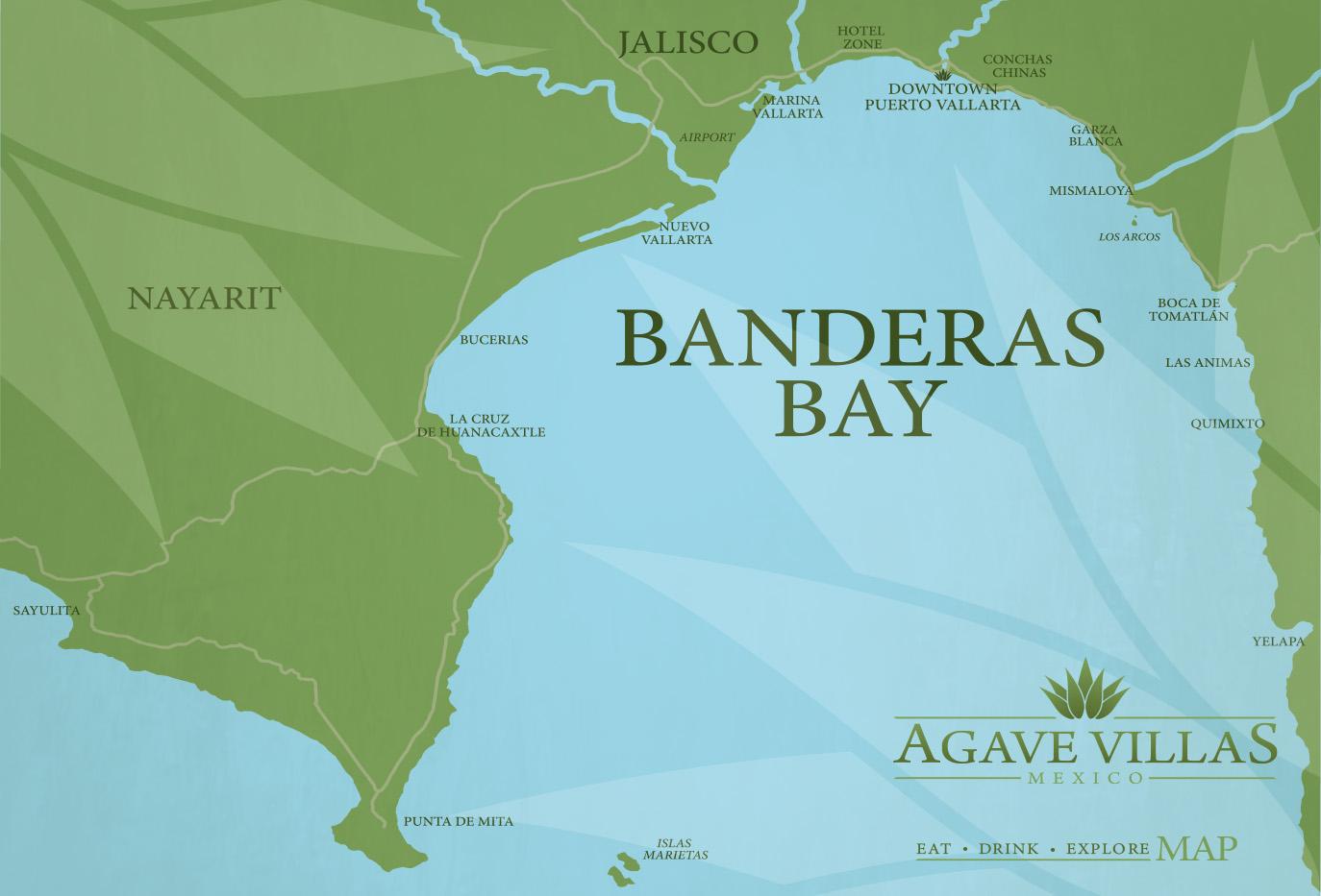 Agave-Villas-Mexico-Custom-Puerto-Vallarta-Banderas-Bay-Sayulita-Punta-Mita-Map-design.jpg