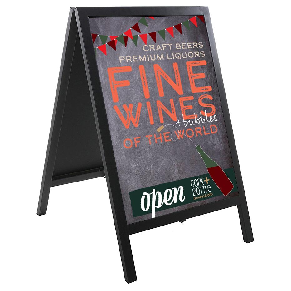Los-Mercados-Sandwich-board-wine-sidewalk-advertising-signage.jpg