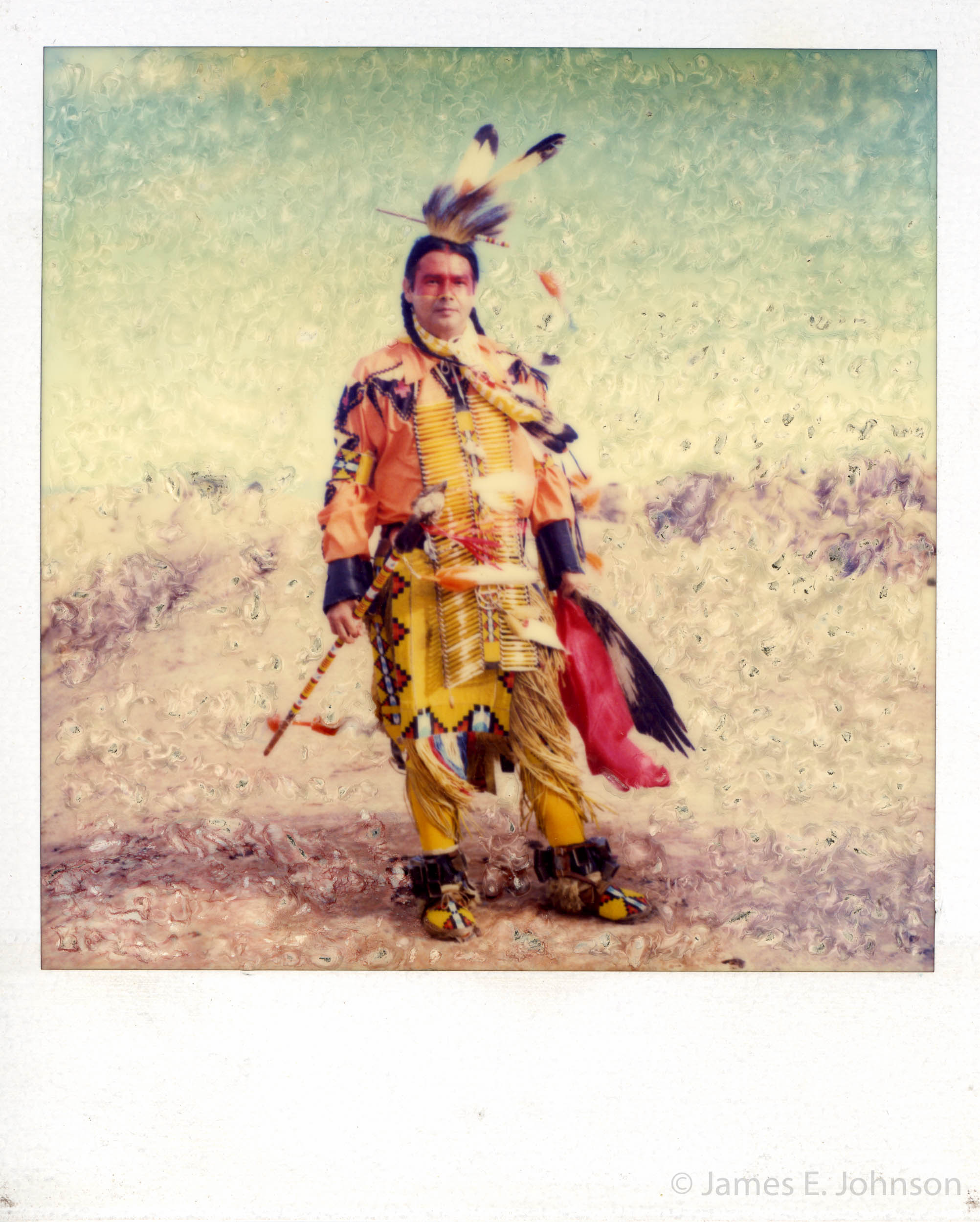 Native American Chief. Taos, New Mexico