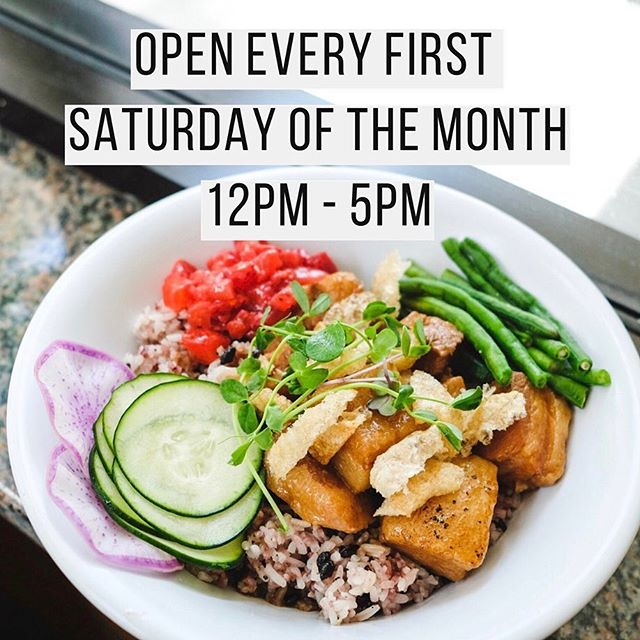 WEEKEND HOURS UPDATE 🕚 . OPEN THIS SATURDAY (AUG 3) FROM 12PM-5PM! 🎉 . . Starting August, We will be open every first Saturday of the month! . We also have a NEW SPECIAL this week to be announced on stories! Follow along to get the latest specials update! . ➡️ @baon.dtla  #eatyourbaon