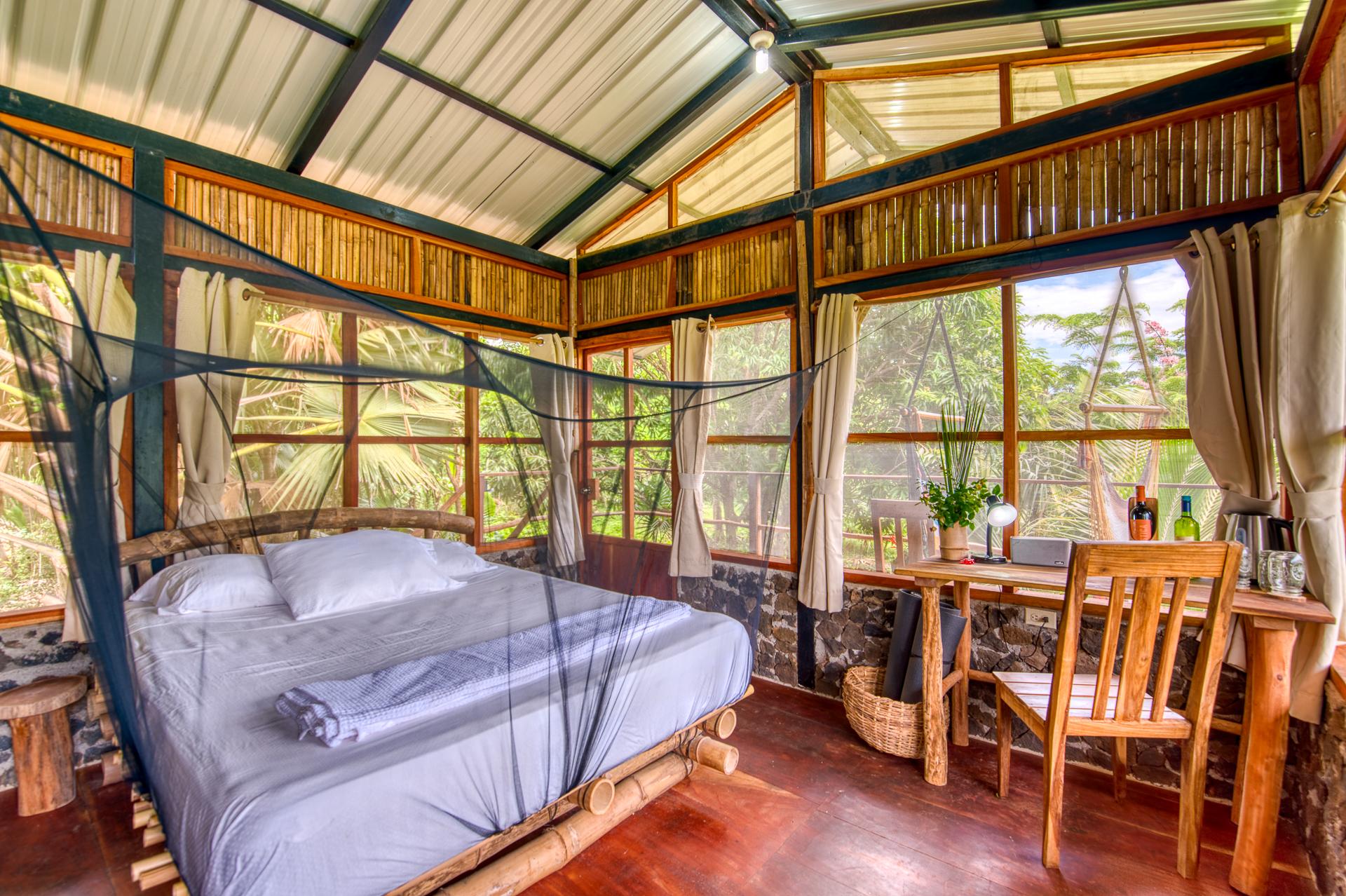 The Palmera Jungle Cabin La Bambouseraie Ometepe