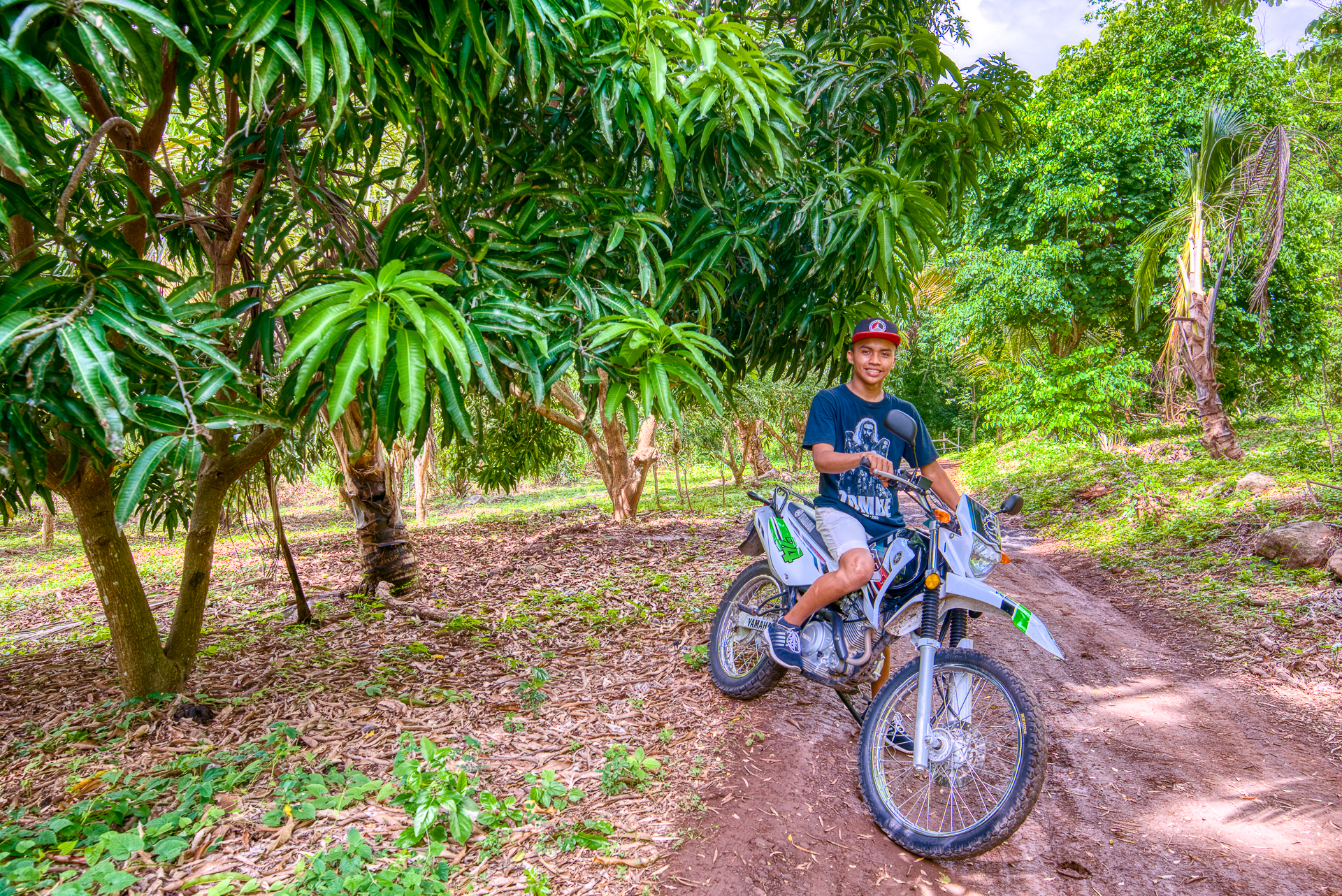 rent a motorbike to explore the island from Clandestino Tours delivered to Bambouseraie Jungle Cabins